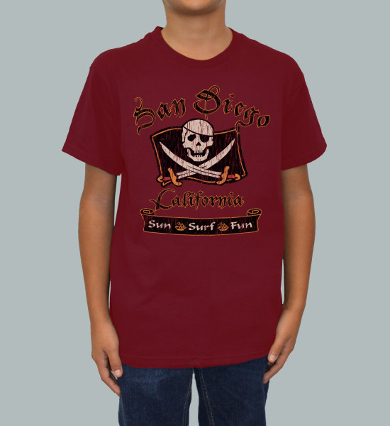 SD Pirate T-Shirt
