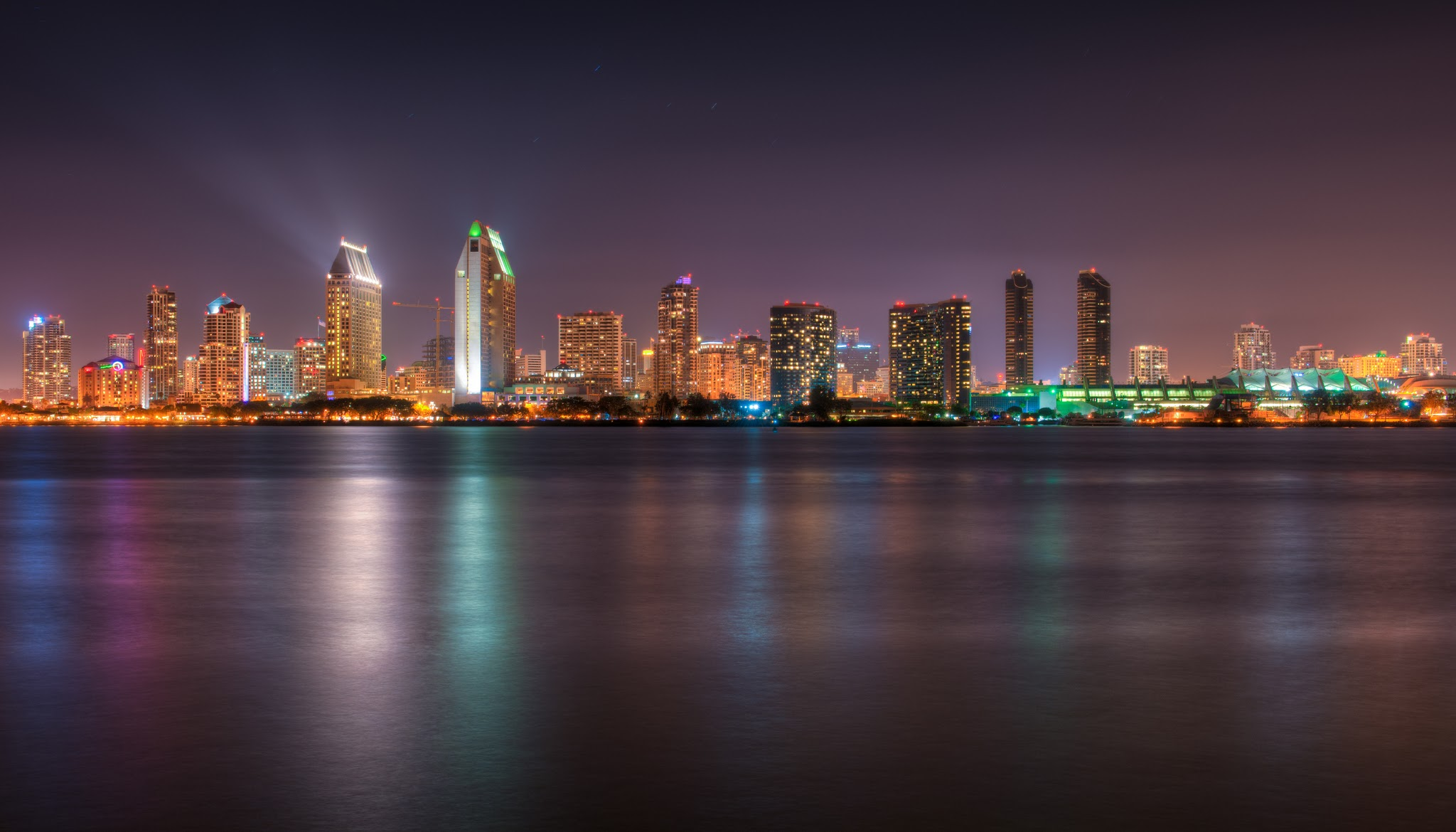 San-Diego-Skyline-at-Night